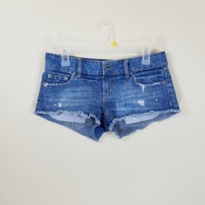 American Eagle Outfitters Distressed Jean Shorts 2